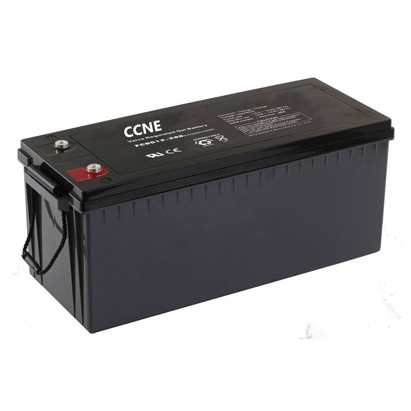 12V 200ah hot sale deep cycle solar battery wholesales ups cell