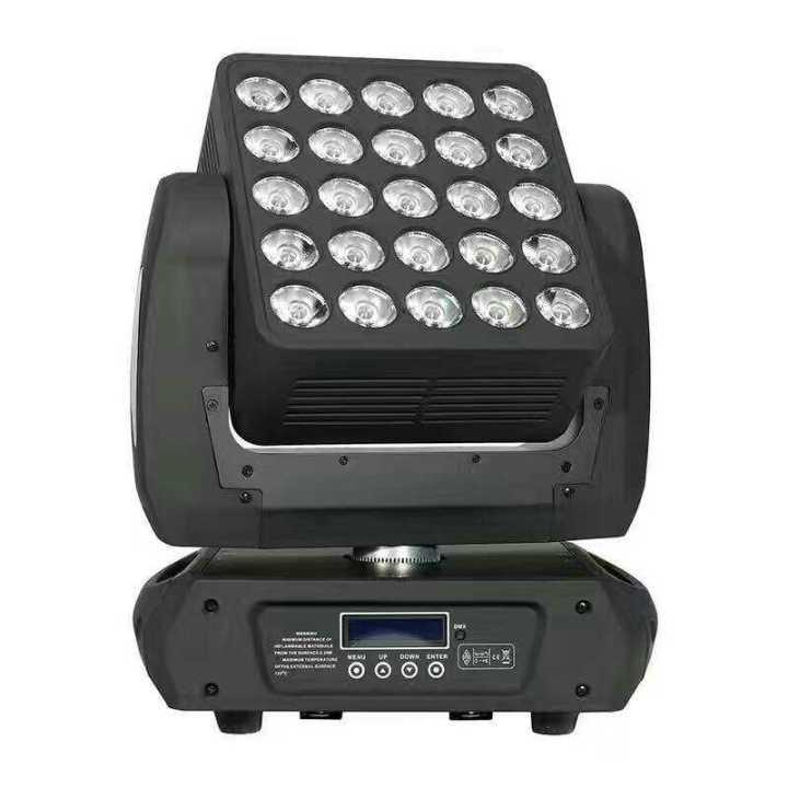 25x12W Magic Matrix LED Moving Head Quad Cree