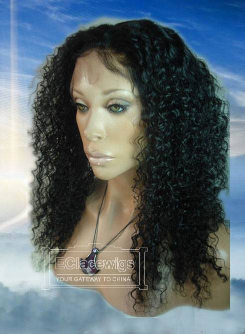 Wholesale Indain Brazilian Kinky Curly Human Hair Full Lace Wigs,Cheap Price