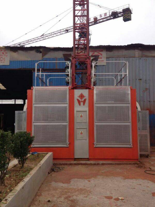 Good performance construction hoist in competitive price