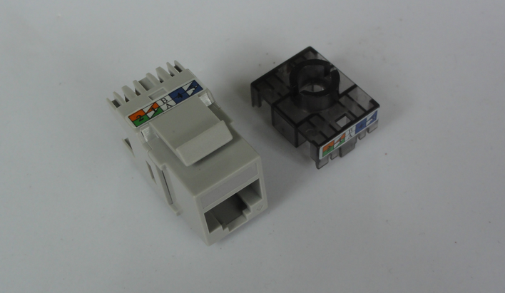 European Siemon Cat6 UTP(unshielded) Keystone Jack