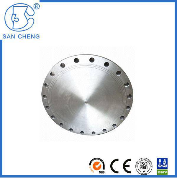 Professional High Quality A105 Carbon Steel Flange Blind Flange Fittings