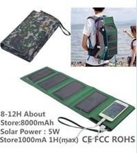 Solar Charger Power Bank WT-S019
