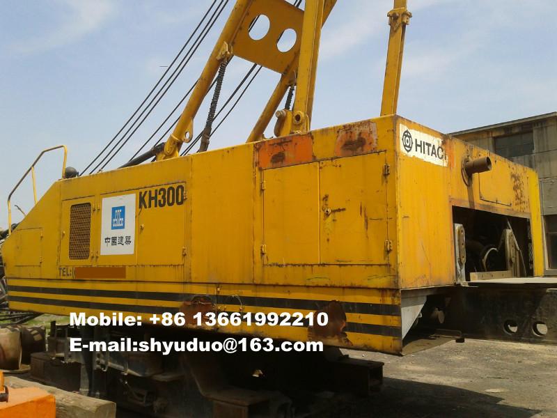 Used 80ton Hitachi Crawler Crane KH300