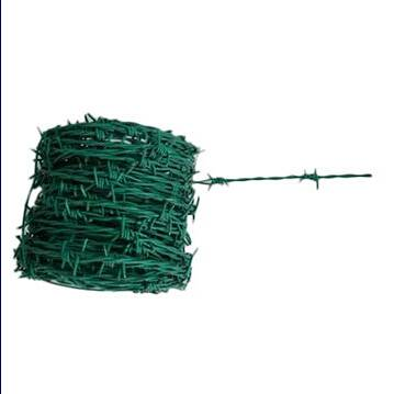 PVC barbed wire with double twist