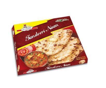 Frozen Tandoori naan