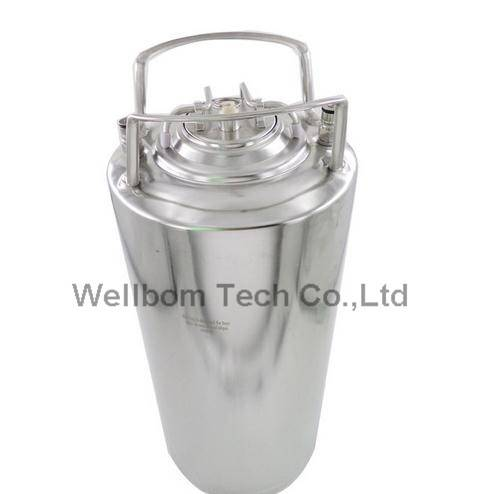 Cornelius style Stainless steel 5 gallon Beer OB Keg With metal handle