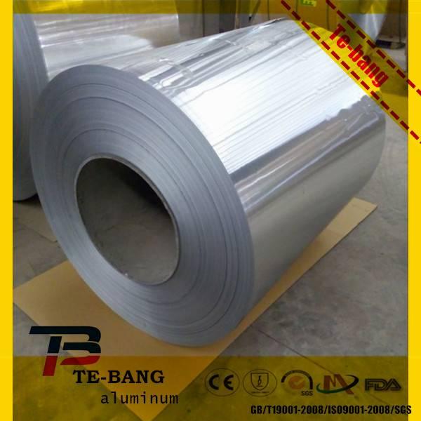 Aluminum foil laminated with PE/PET