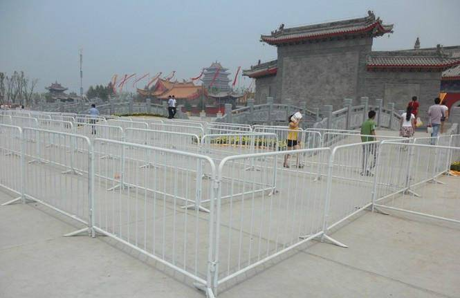 Galvanized High Quality Temporary Crowd Control Barrier Fence