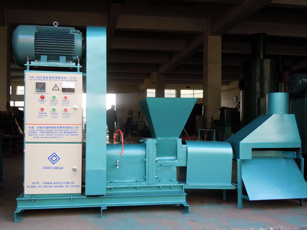 screw briquette machine