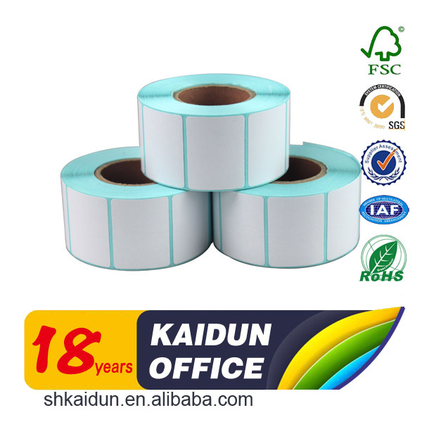 Thermal paper self adhesive label sticker