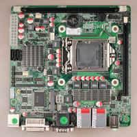 H61 Chipset LGA1155 socket MINI-ITX industrial  Motherboard H61ZX ,PS2+DVI+2*COM+2*LAN+6*USB,2*MINI-
