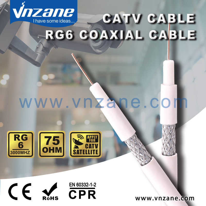 CATV Satellite Coaxial cable RG6