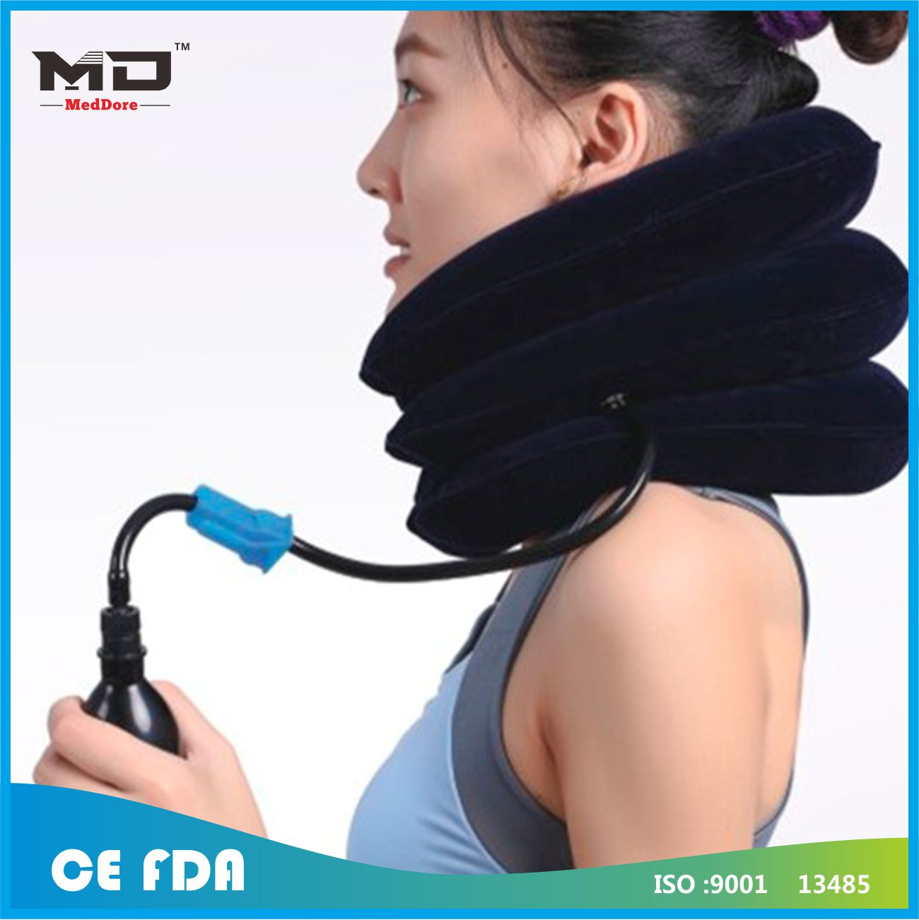 Meddore Adjustable Cervical Collar Orthopedic Stiff Neck Cervical Collar