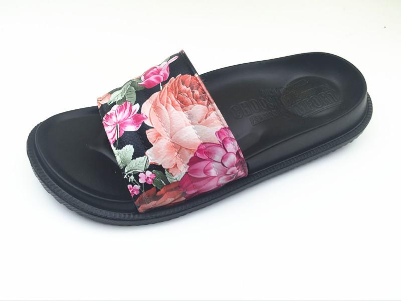 High Quality EVA Flower Summer Slippers For Women