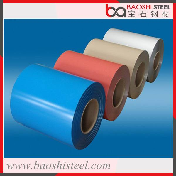 Widely used Popular painting galvanized steel in coil with customerized RAL colors
