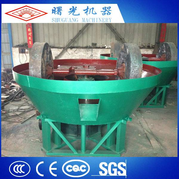 High Performance Durable High Efficiency Wet Pan Mill