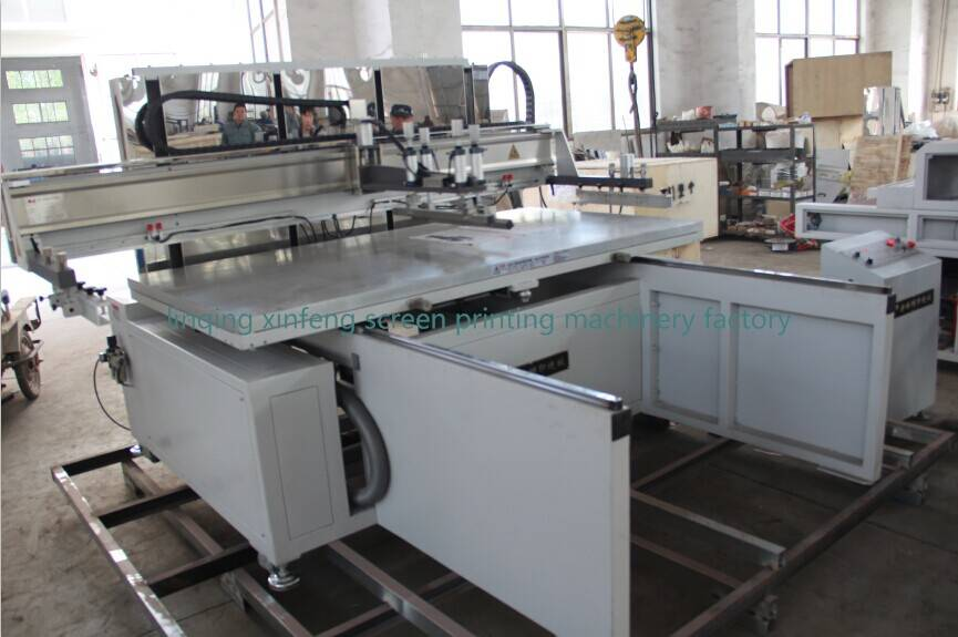 large size automatic silkscreen printing machine