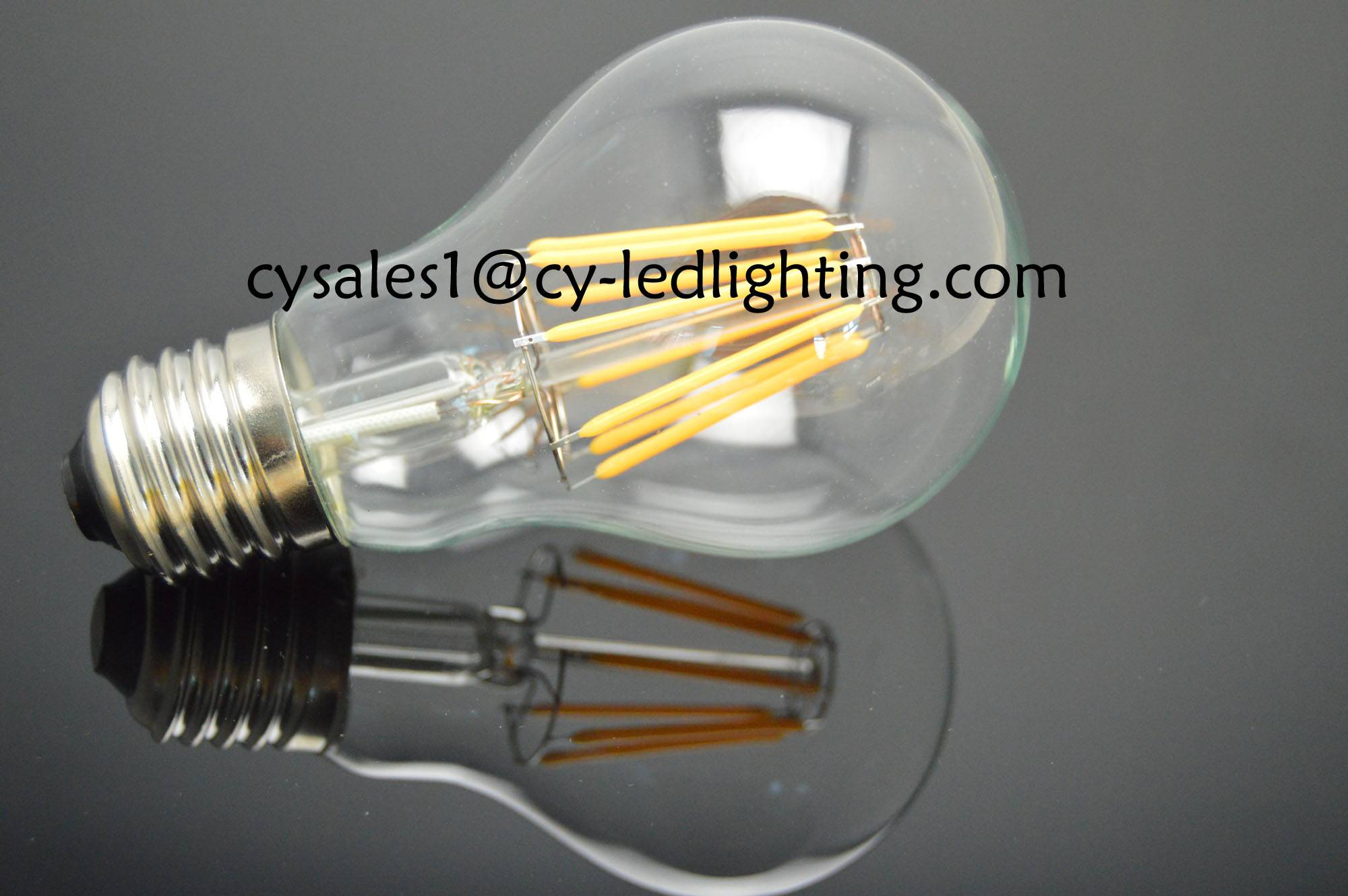 A19 hot sale vintage Edison DC12V DC24Vfilament led bulb 8W