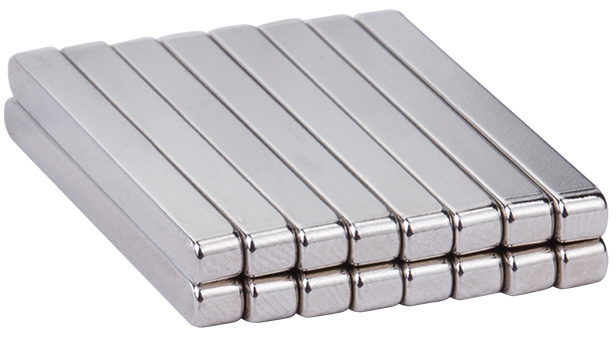 60 x 10 x 5mm N35 Neodymium Bar Magnets