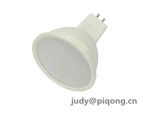 PBT with stamping aluminum MR16 spotlight 3W housing parts