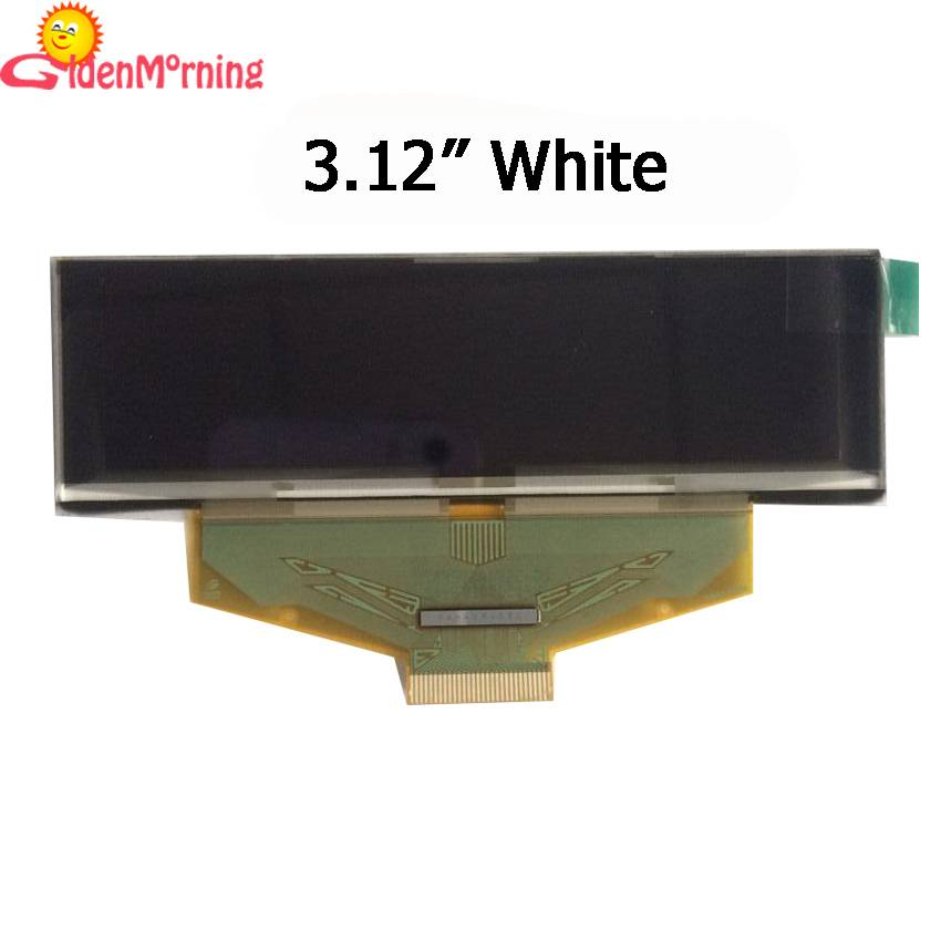 "3.12"" OELD display module, white color"