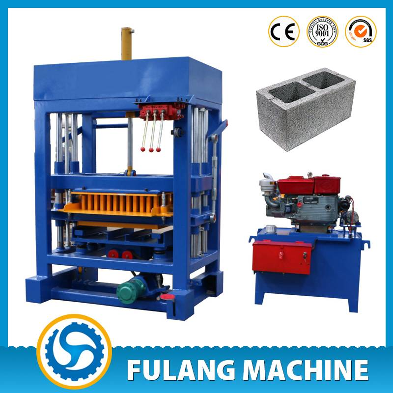 QTF4-28 Germany design hydraulic concrete fly ash brick making machines fo