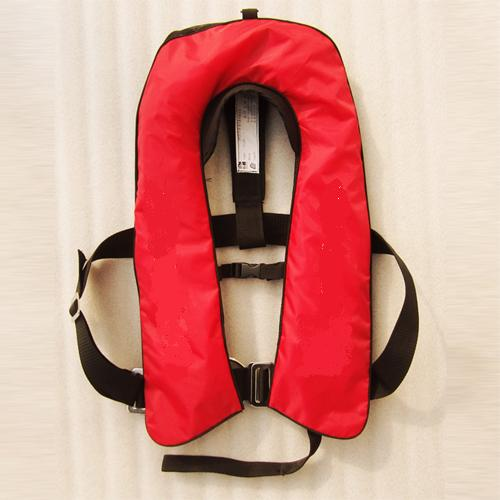 CCS/EC approved Inflatable life jacket with double chamber