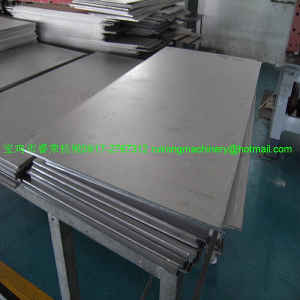 titanium sheet GR5 3.010002000MM