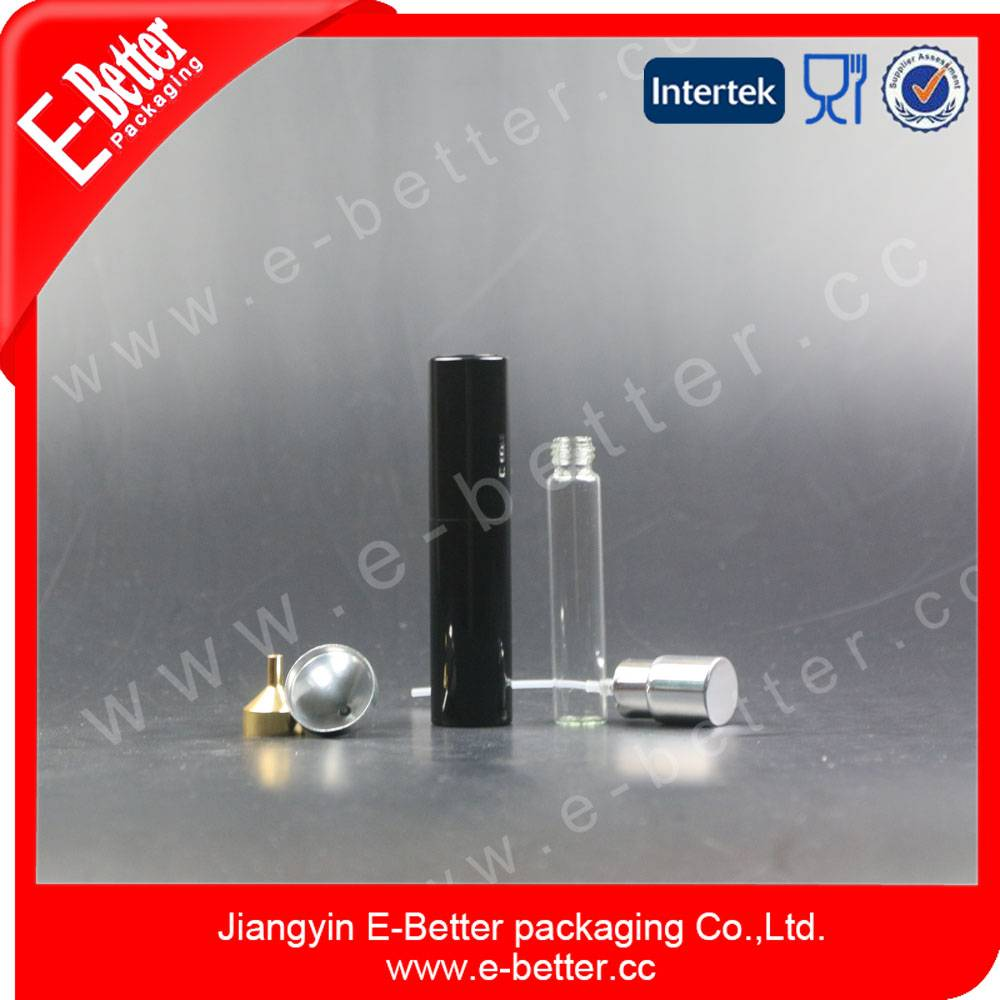 aluminium empty glass perfume atomizer wholesale