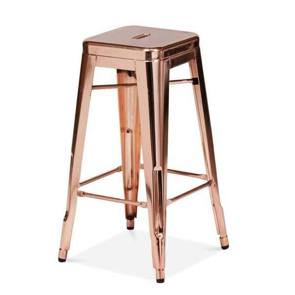 Rose gold bar stool