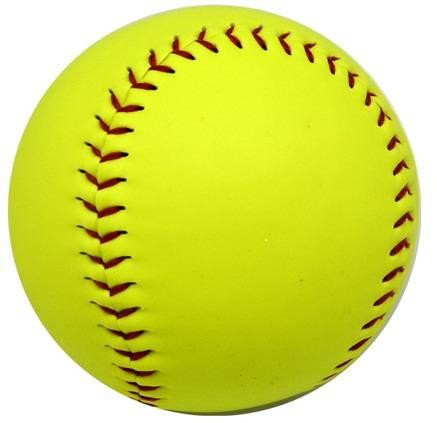 high quality&cheap price 12 inch custom pvc leather cork core softball&baseball