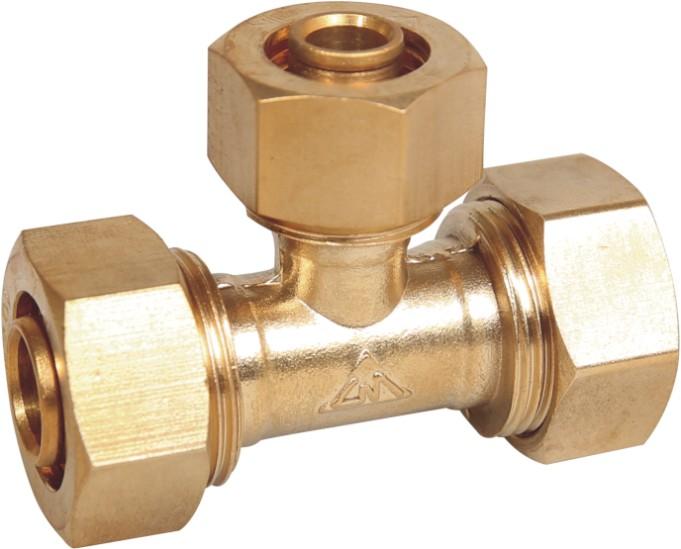 valve fitting tee
