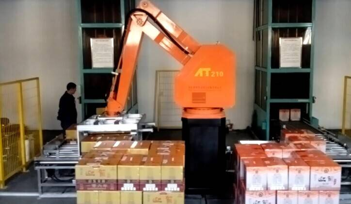 Robot palletizing ,quality guaranteed,high speed low price