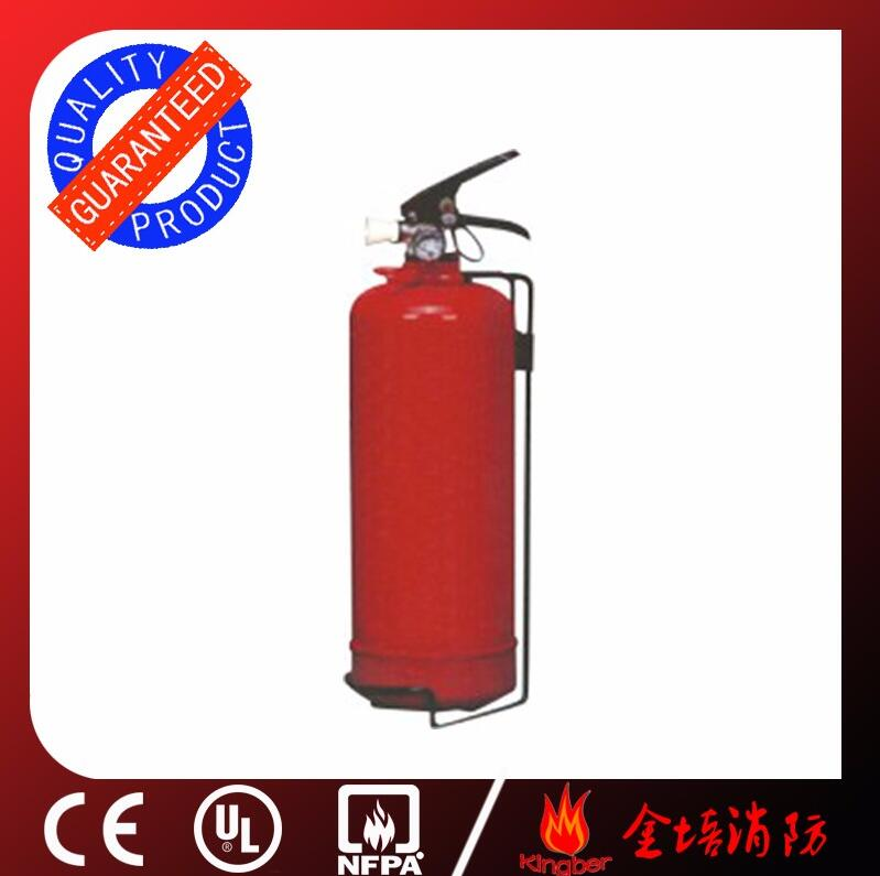 1KG Portable Cold-Roll Steel ABC40 Dry Powder Fire Extinguisher for Kitchen Using with ISO Approval