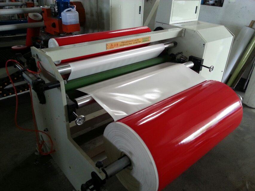 Single-Shaft Jumbo Roll Masking Tape Rewinder