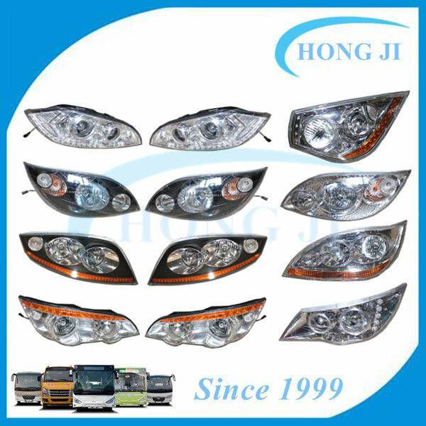Bus Head Light for Yutong Kinglong, Higer, Daewoo