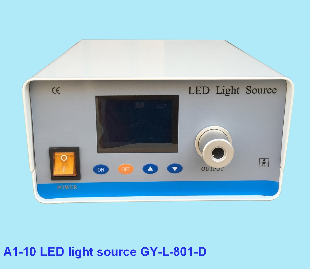 Medical endoscope led cold light source with display screen