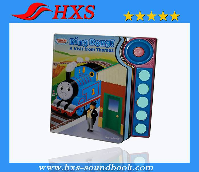 Best Price Push Button Educational Toy Cartoon Book Sound Bar for Children