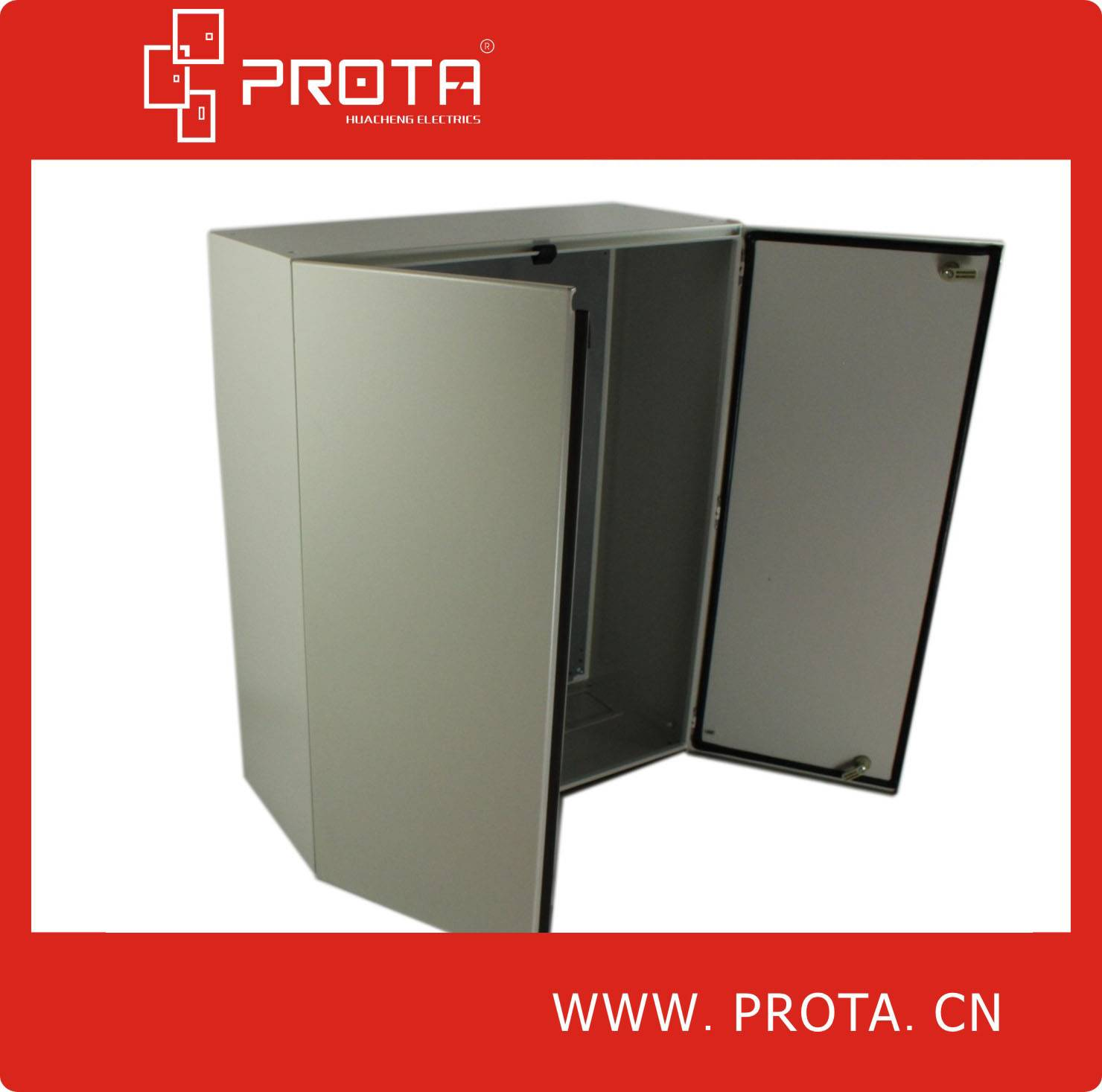 Metal Distribution Box With Double Doors