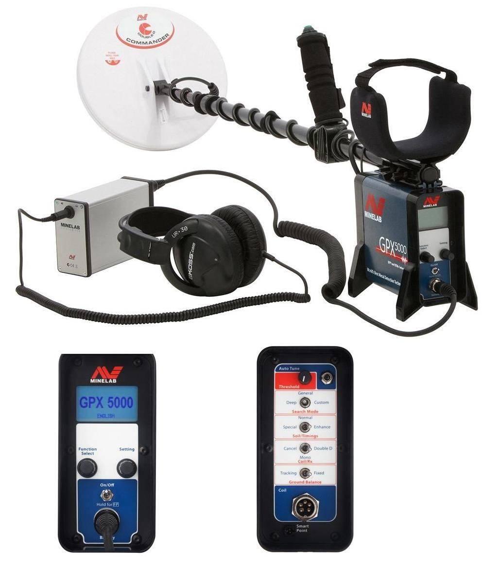 Minelab GPX 5000 Metal Detector