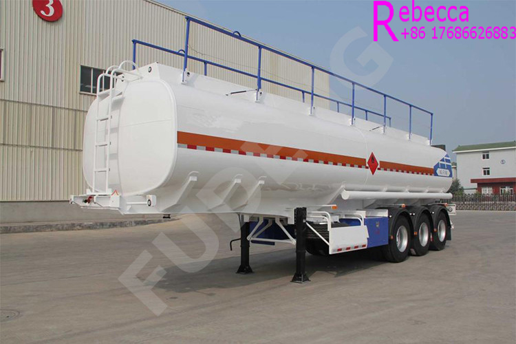3 AXLE FUEL TRANSPORT TANKER TRAILER OIL TANKER SEMI TRAILER