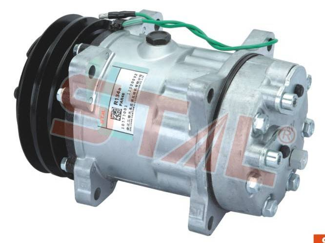 small order VOLVO ENGINEERING TRUCK A/C compressor with R134a