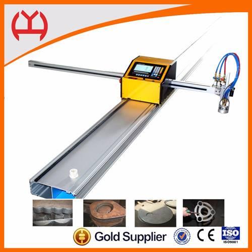 High efficiency portable cnc steel cutting machine
