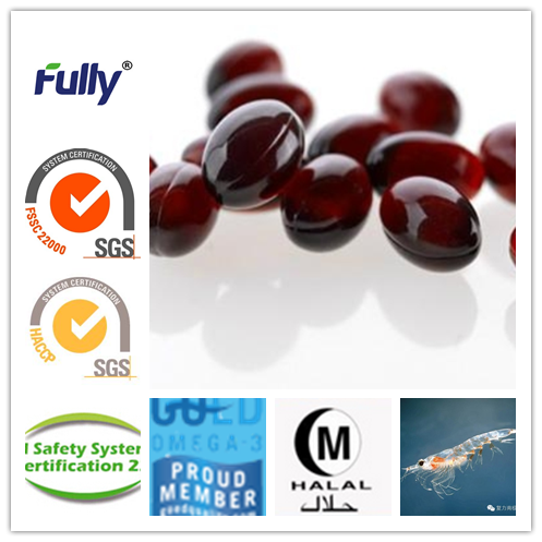 krill oil softgel