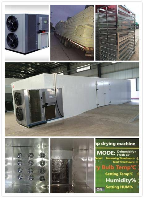 heat pump dryer,air source heat pump, factory price, energy saving drying machine, smart control hum