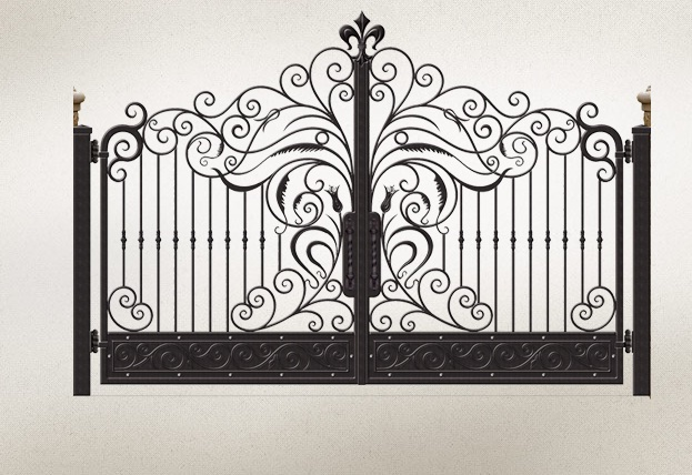 Iron Gate for sale and driveway