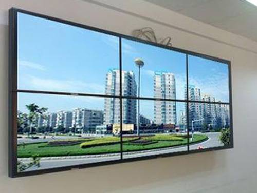 SANMAO Outdoor 55 Inch High Resolution 1920 * 1080 TFT LCD Splicing Screen Video Wall
