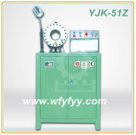 (6-51mm) Hose Working YJK-51Z Hydraulic Crimping Machine