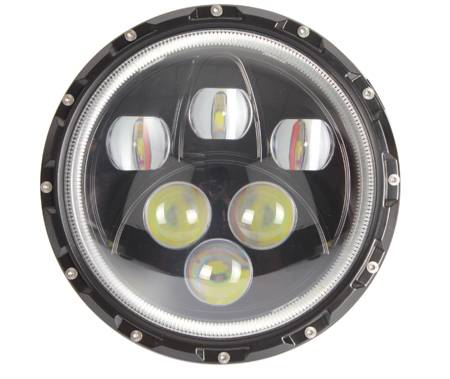 7 inch,Work light,led,Big Sale for HKWL7101,Stainless steel,jeep,auto,car headlight,Western Union,Pa